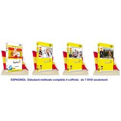 ESPAGNOL Débutant Méthode complète 6 DVD seulement