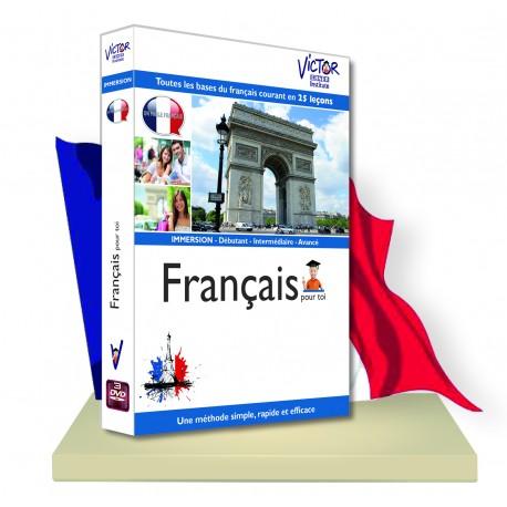 FRANCAIS Débutant,immersion en DVD