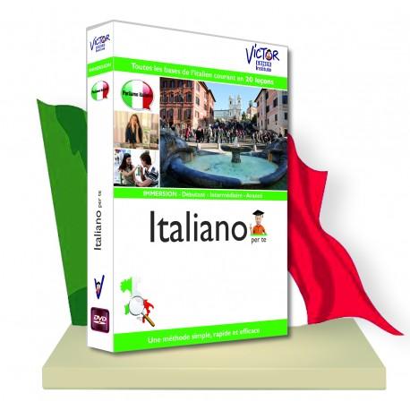 ITALIEN Débutant,immersion